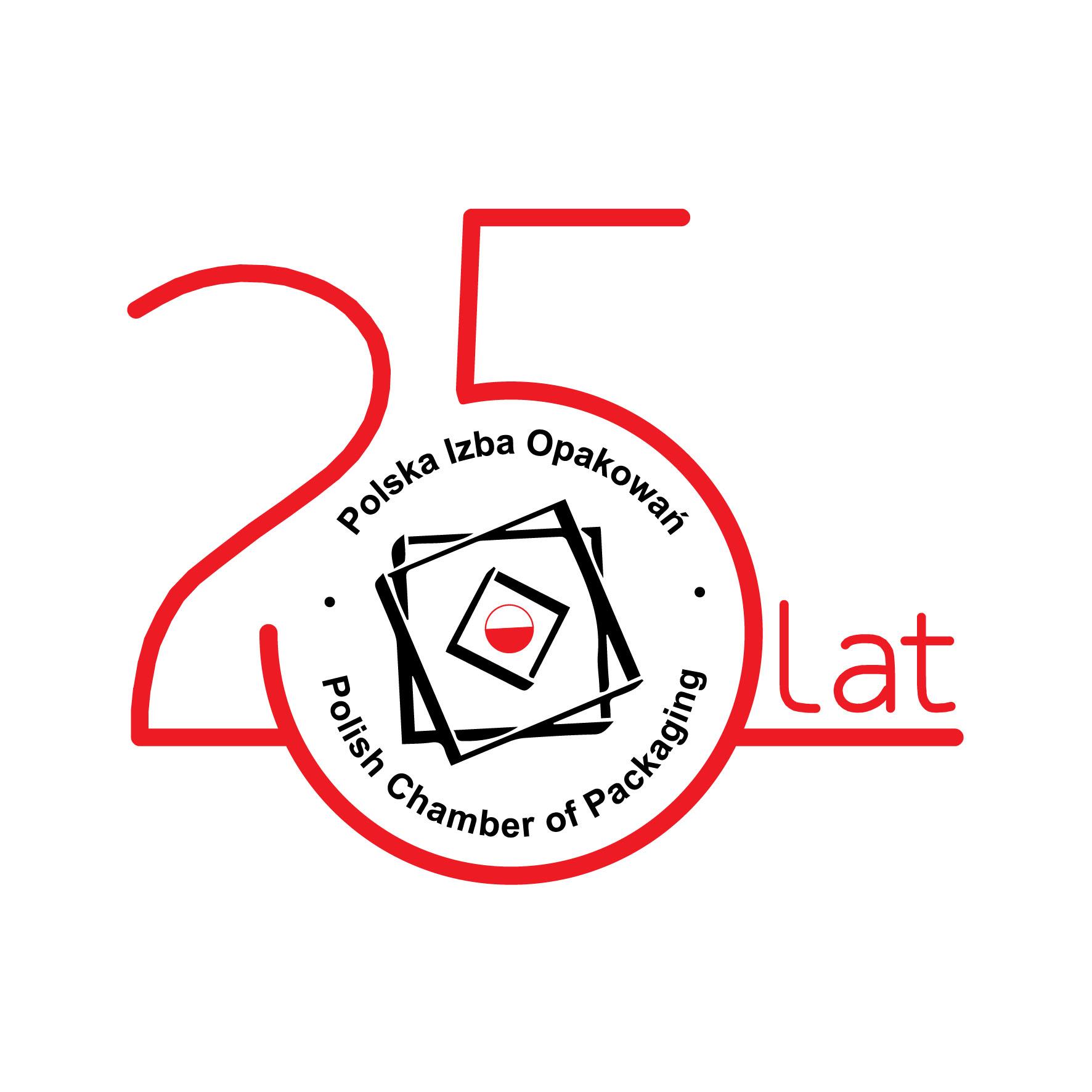 PIO logotyp 25 lat - 2019 (jasne tło)